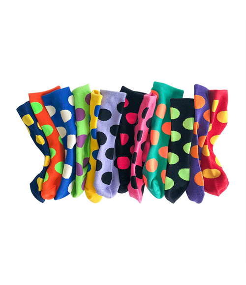 Children's Polka Dot Socks